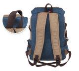 Backpack Yf-Lb1678 дела компьютера Satchel мешка плеча посыльного холстины людей