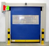 Auto rápidos da porta de alta velocidade industrial do congelador rolam acima a porta do PVC (Hz-HS006)