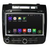 Lecteur de DVD GPS de voiture pour VW Touareg 2010-2013, 7 pouces système Android, WiFi, 1+16GO