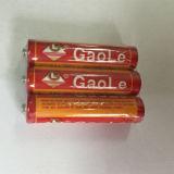 Fabricação de bateria chinesa Um4 AAA Primary Battery (pacote de 3PCS vermelho)