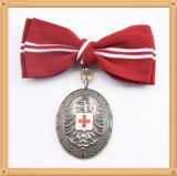 Emblemas em branco comuns personalizados baratos da concessão do esporte do emblema da lembrança