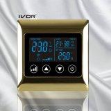 Thermostat-Noten-Schalter der Klimaanlagen-4-Pipe im Metallrahmen (SK-AC2000L8-4P-N)