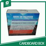 Коробка коробки b каннелюру гофрированная складчатость бумажная с пластичными ручками