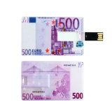 Mini vara do USB do cartão de crédito de Pendrive do cartão da movimentação do flash do USB
