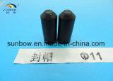 Capuchon de rétrécissement thermique de polyoléfine isolant pour câble