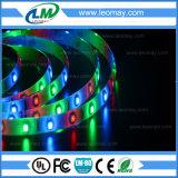 Luz de tiras estándar de la luz 3528SMD 4.8W RGB LED de la cinta de DC12V