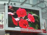 Étalage d'écran polychrome extérieur de module de P10 DEL annonçant le panneau