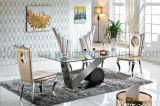 Banquet moderne d'acier inoxydable de meubles d'hôtel dinant la présidence (B8881)