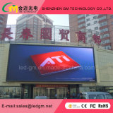 High-End Custom Outdoor Full Color LED Display / tela / parede de vídeo, P10mm