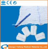Spugne pre lavate mediche chirurgiche del giro con il ciclo blu