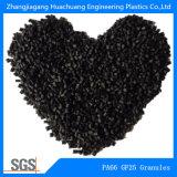 Nylon PA66 fibra de vidrio del 25% para plásticos primas