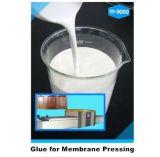 Schneller trockener wasserbasierter Kleber für das Holzbearbeitung-Membranen-Betätigen