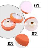 Roda da esponja por atacado da fábrica almofadas de polonês de lustro/do disco/espuma de lustro da esponja