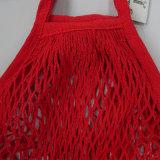 Saco revestido barato do engranzamento do algodão do PVC com cores de morte