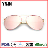 Ynjn UV400 Eye Protect Espelho Steampunk Óculos de sol