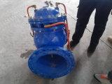 A válvula de controle de bomba multifunções