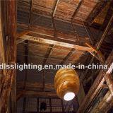 Vintage estilo de papel corrugado colgando luces colgantes para la decoración