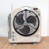 27W 12 인치 테이블 DC/AC 재충전용 팬