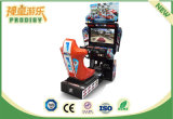 Máquina de juego de fichas de interior que conduce el coche de competición para el sitio de juego