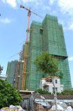 Hidráulico de la grúa de construcción del edificio Torre