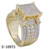 ورك جنجل مجوهرات سيدات حلقة 925 فضة [ميكروبف] [كز] حلق