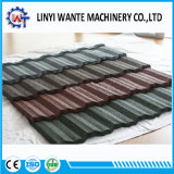 Tipo classico mattonelle di tetto di alluminio rivestite del metallo della pietra