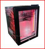 ガラスドアの飲料の小型冷却装置