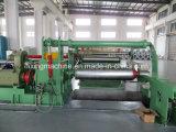 Linha Hidráulica de corte longitudinal e rebobinagem de fábrica chinesa da Máquina