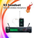 Бесшнуровой микрофон радиотелеграфа UHF Headworn