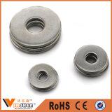 Rondelle plate plate de haute résistance d'acier inoxydable de la garniture DIN125