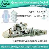 Machine à serviettes hygiéniques et serviette hygiénique Machine pour soins de santé Ultra Thin Pads of Flushaway