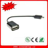 인조 인간 정제 전화 - 검정을%s USB OTG 케이블