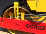 Do compressor dobro do cilindro de Dynapac Cc422 rolo Vibratory usado (CC421 CC422)