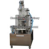 Nitrógeno que vacia la máquina de rellenar del café líquido