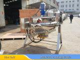dispositivo di raffreddamento del vapore 600liter per la salsa di pomodori (caldaia di cottura rivestita)