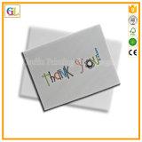 Бумажная карточка/поздравительная открытка/открытка печатание в дешевом цене