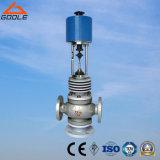 Elevadores eléctricos de alta temperatura corretor de desviar a válvula reguladora de fluxo (ZDLX)