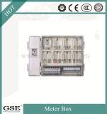 Enige Fase Zes de Doos van de Meter van de Positie/Elektrische Meter