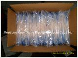 Sachets en plastique transparents de blocage de nourriture de vente chaude et de fermeture éclair de pente médicale fabriqués en Chine