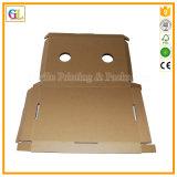 Изготовленный на заказ складная коробка Corrugated картона упаковывая
