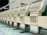 12のヘッド9カラー平らな刺繍機械