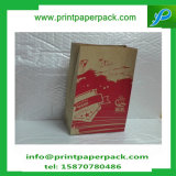 El hacer compras quita el bolso de empaquetado de la categoría alimenticia de la bolsa de papel de Kraft para los alimentos de preparación rápida