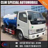Dongfeng 5m3 4ton Abwasserbeseitigung-LKW-Abwasserbeseitigung-Becken-LKW