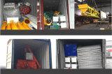 skip-Type 90m3/H Concrete het Mengen zich Installatie met de Transportband van de Schroef (HZS90)