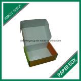 Matt-weißer gewölbter Papierkasten für die verpackenden und versendenden Spielwaren