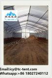 Grande barraca do armazenamento para o armazenamento da motocicleta com porta de vidro