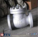 API Литые стальные фланцевые обратный клапан поворотного механизма