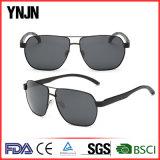 Óculos de sol de alumínio personalizados Ynjn do esporte dos homens da parte alta (YJ-FA3356)