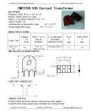 500 : 1 mini carte montant le trou du transformateur de courant 5mm