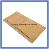 Sac de papier durable matériel neuf de mémoire de Dupont, sac personnalisé respectueux de l'environnement de coup de papier de Tyvek avec trois poches de couche